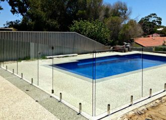 Glass Pool Fence Installation